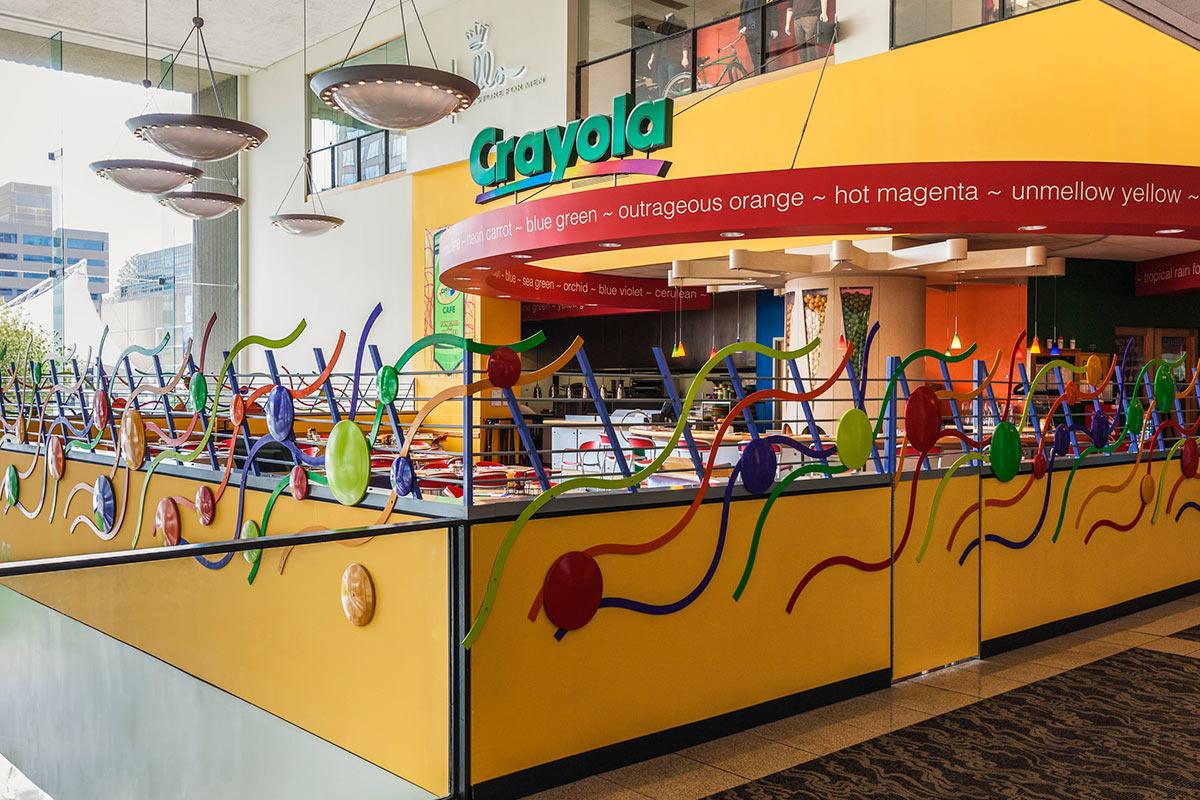 Crayola Cafe Crown Center In Kansas City