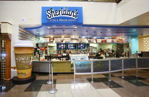 Sheridan's Lattés & Frozen Custard Entrance