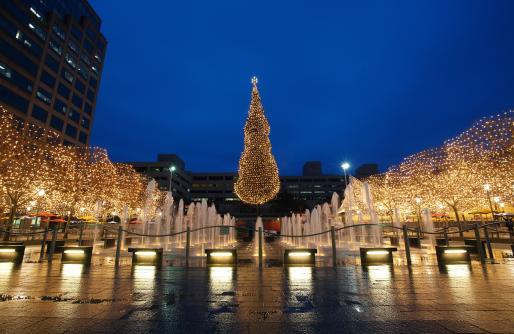The Mayor's Christmas Tree at Crown Center Square