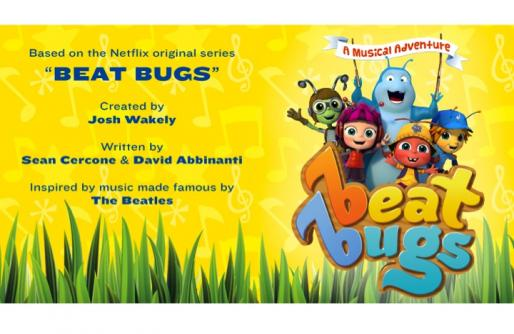 Illustration of Beat Bugs with title