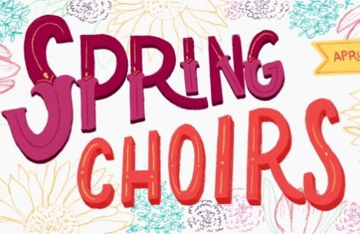 SPRING CHOIRS TITLE PAGE