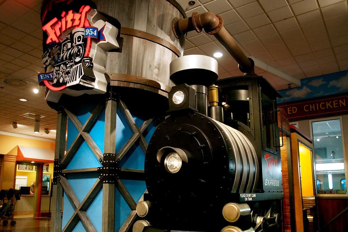 Fritz S Railroad Restaurant Crown Center In Kansas City