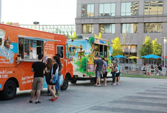 Food Trucks on Crown Center Square
