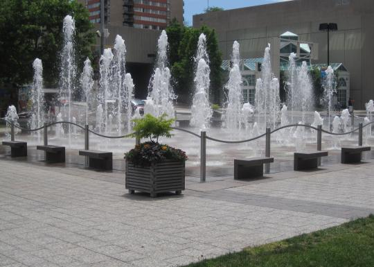 Crown Center Square Fountain
