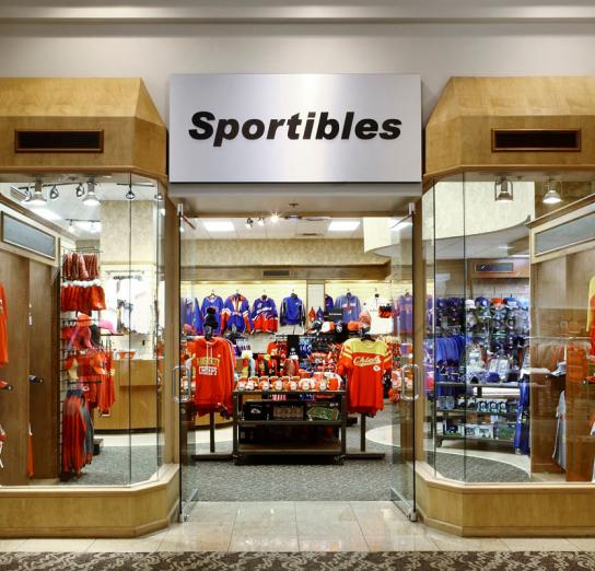 Sportibles Front Entrance at Crown Center